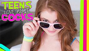 Teens Love Huge Cocks