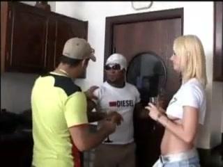 Rafaela Monteiro With 3 Blacks