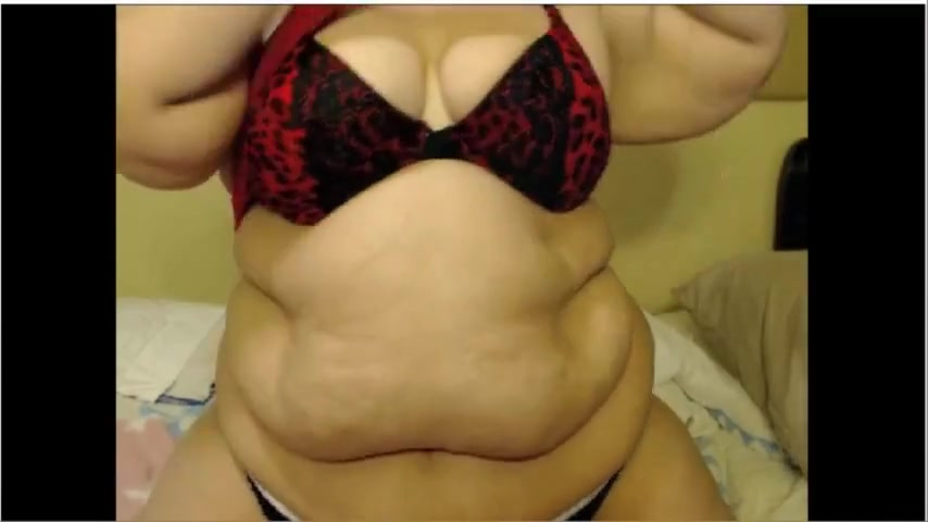 Curvy Ssbbw Plays In Front Of The Camera