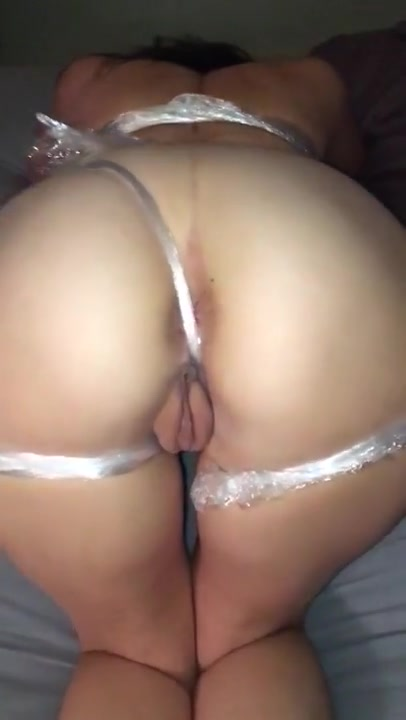 Phat Ass Tied Fucked And Showered With Sperm