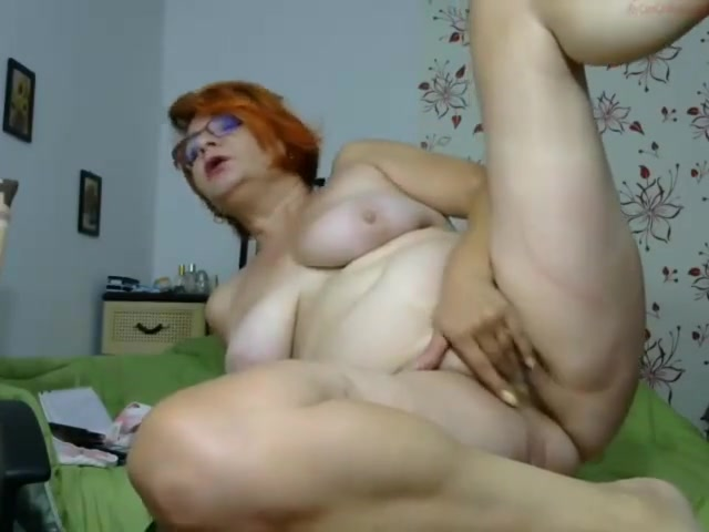 Mature Cam Show With A Bottle