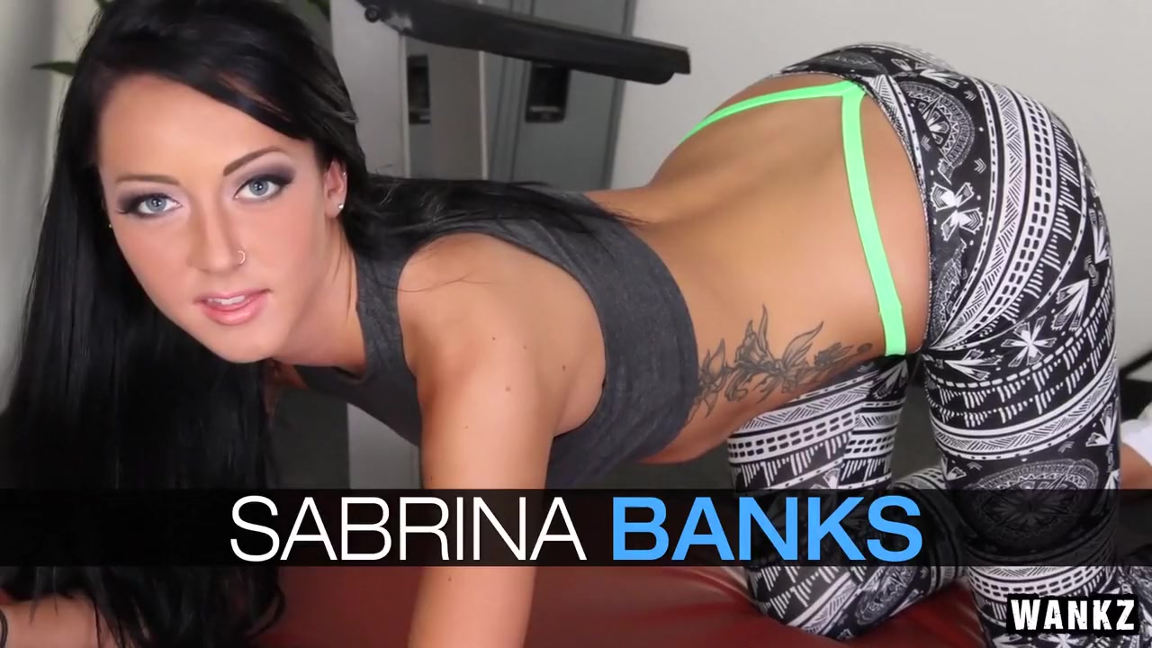 Awesome teen Sabrina Banks is screwing very hard in her tight muff № 315477 без смс