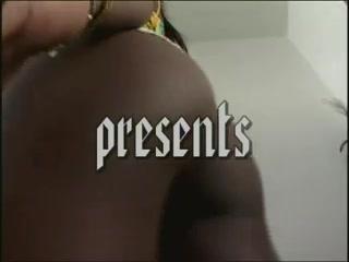 Ebony Latina girl on a huge boner