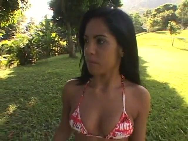 Latina Teen Fucked On The Football Field