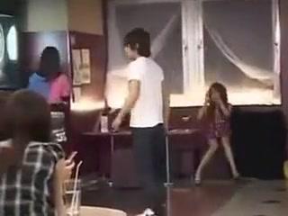 Japanese Girl Fucking In The Bar