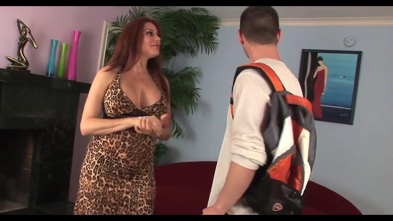 Hot Dirty Talking Cougar Takes A Hard Hard Cock