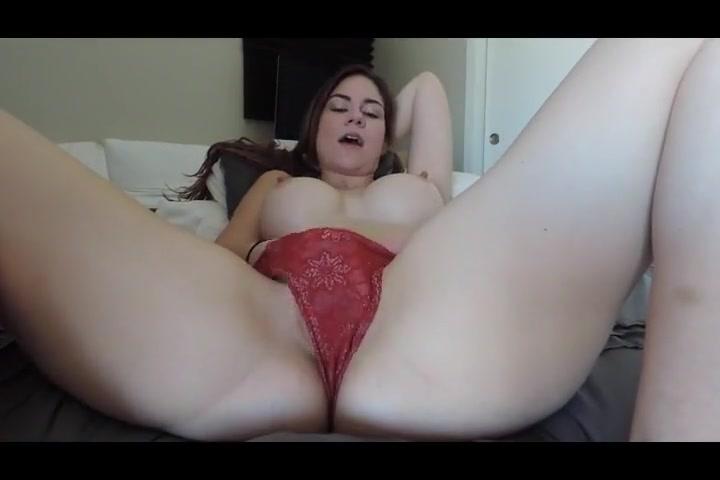 Pretty Brunette With Big Tits Solo