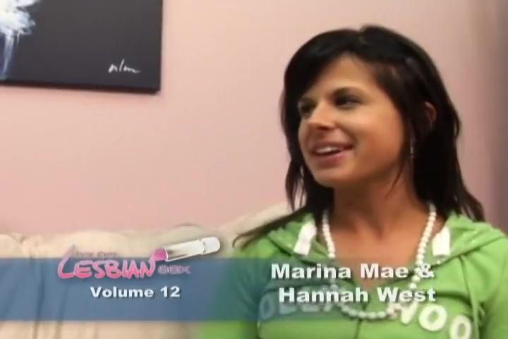 Mariana And Hannahs Lesbian Experiment