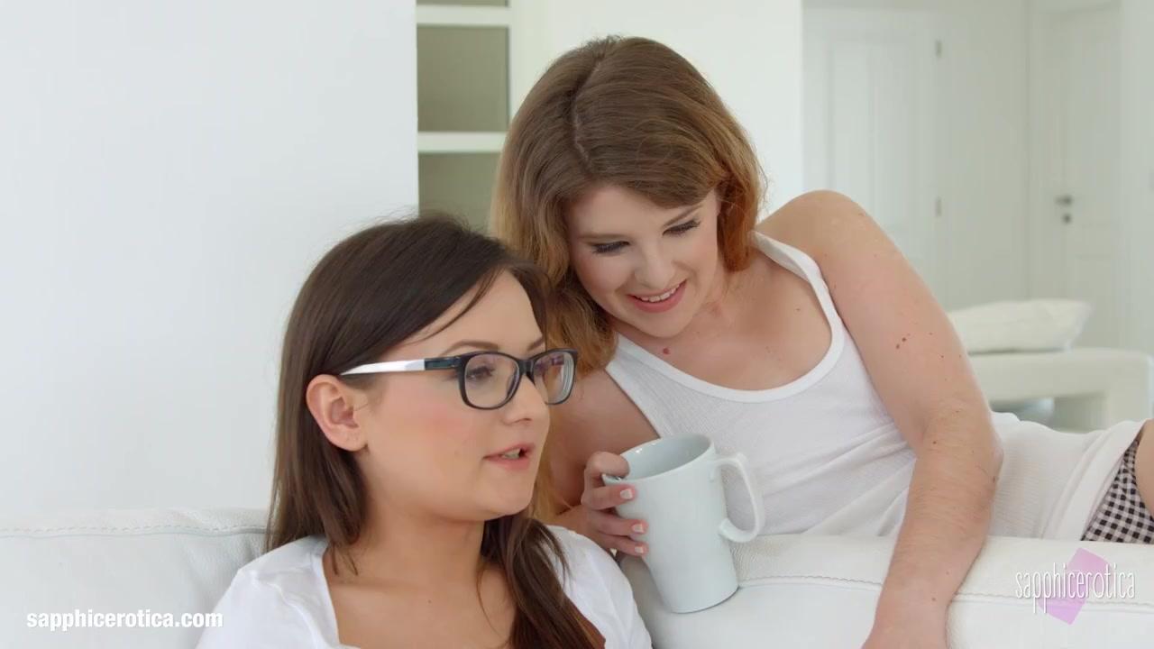 Kisses Of Sapphic Erotica Sensual Erotic Lesbians Porno With Anina Silk And Jada Jones