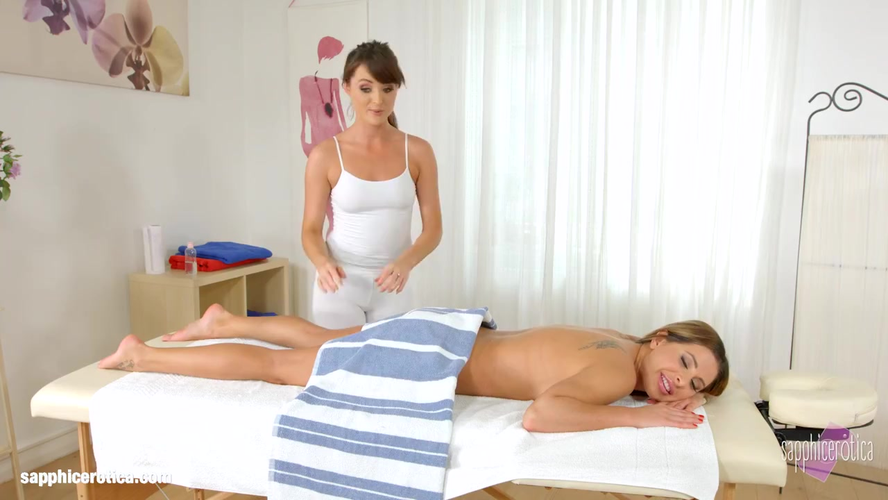 Magical Massage By Sapphic Erotica Sensual Lesbian Scene With Ally Breelsen Lydia Lust