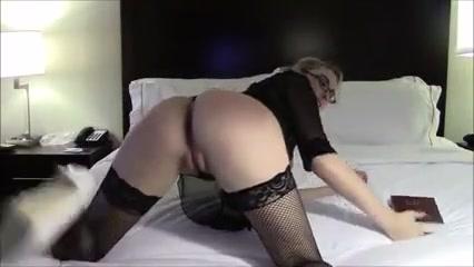 Beautiful Blonde Commits A Sexy Blasphemy
