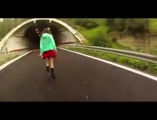 Skater Girl Gives A Public Pov Blowjob And Swallows