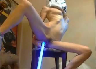 Star Wars fan masturbating