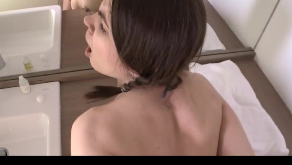 Adorable College Girl Pigtailed Anal Creampie Salope