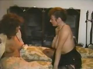 Mature retro lesbian sluts in a hot vintage porn movie