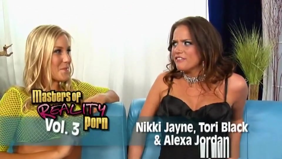Incredible Pornstars Nikki Jayne, Alexa Jordan And Tori Black In Best Brunette, Adult Clip Tattoos