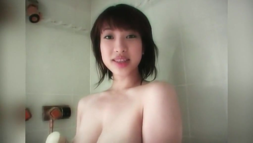 Big Natural Tits On Asian Shower