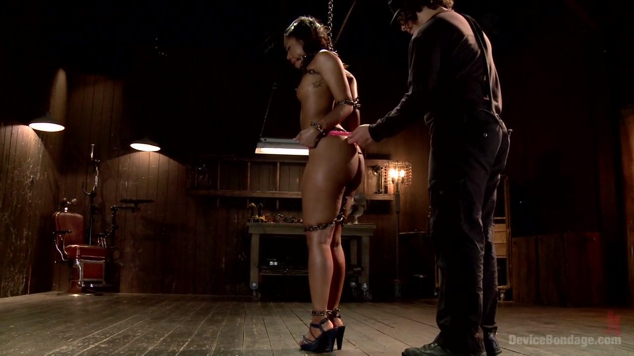 Chanel Heart In Ebony Slut Is Tormented And Machine Fucked - Devicebondage