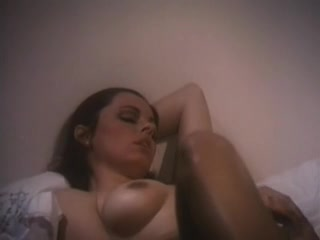 Passionate and horny retro lesbian in porn movie