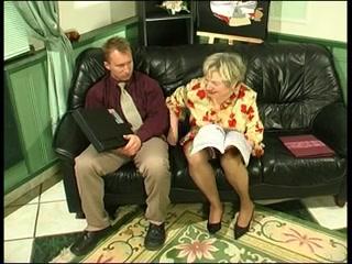 BBW Russian granny gets boned really hard