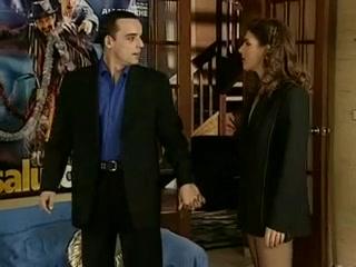 Karen Lancaume anal en underware