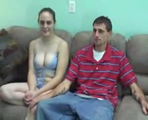 Busty babe gives a masterful blowjob