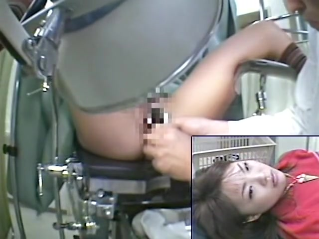 Gynecological exam voyeur video starring fresh Asian