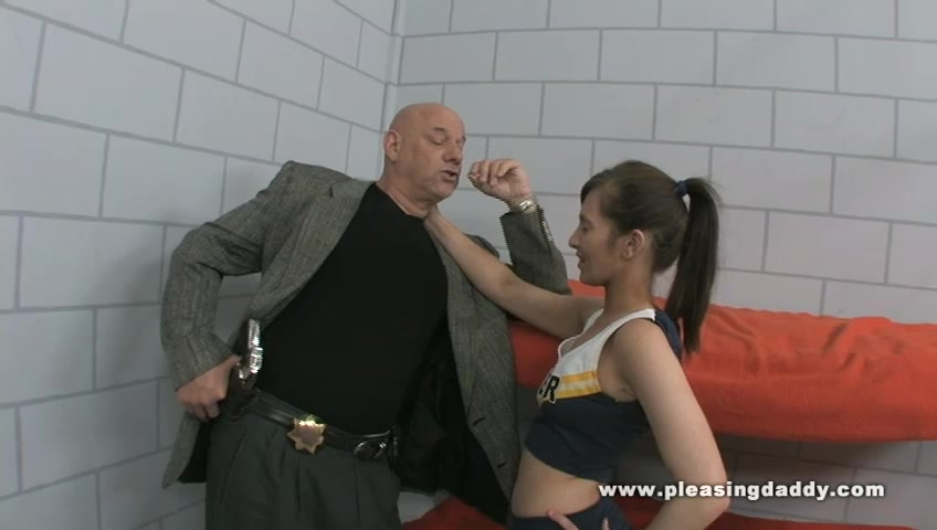 Cheerleader fucks her way out of prions