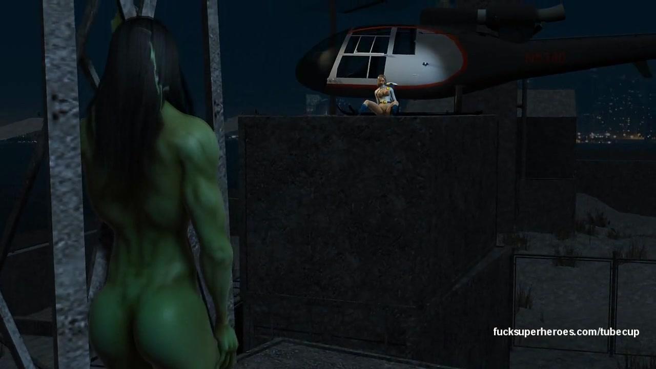 She Hulk and Power Girl