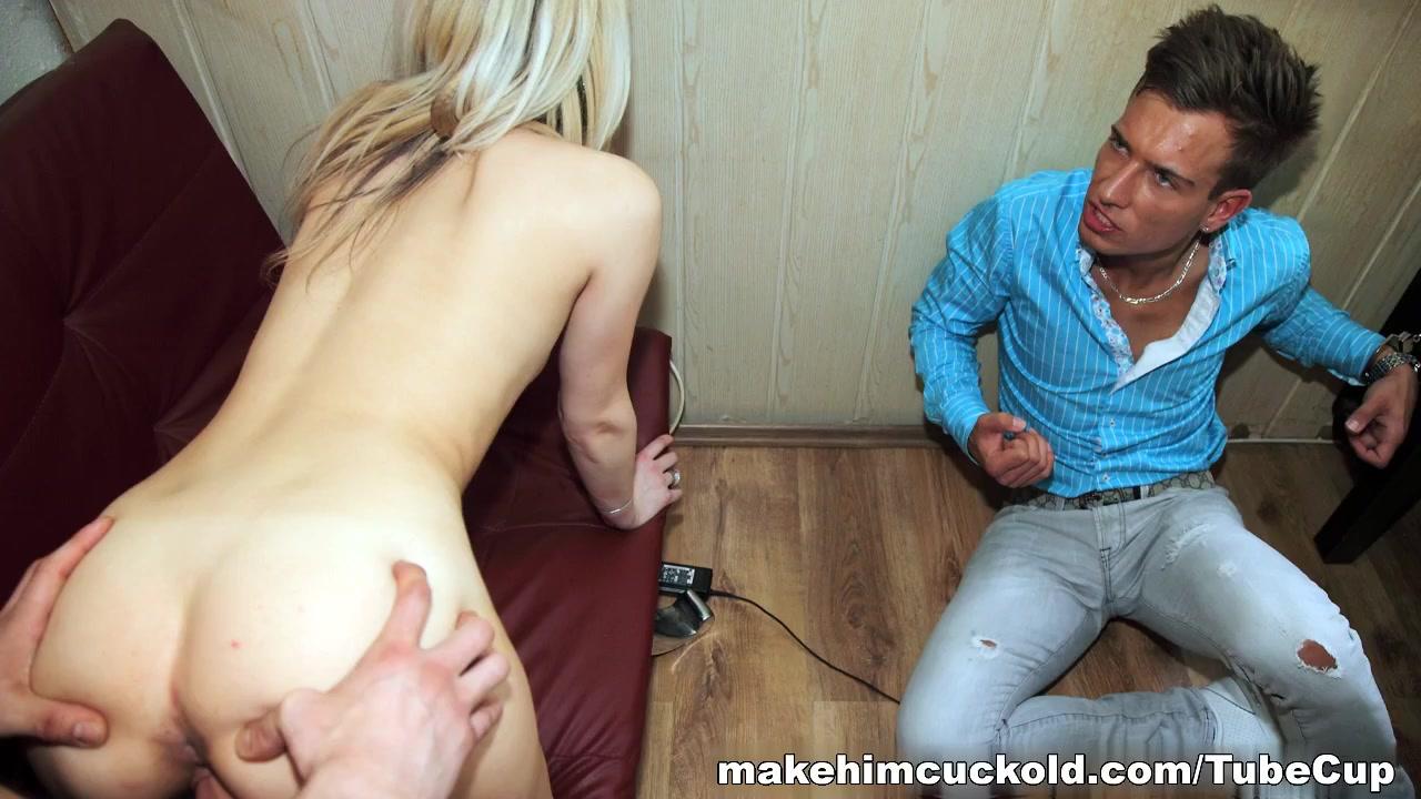 Cuckold revenge from sexy blonde