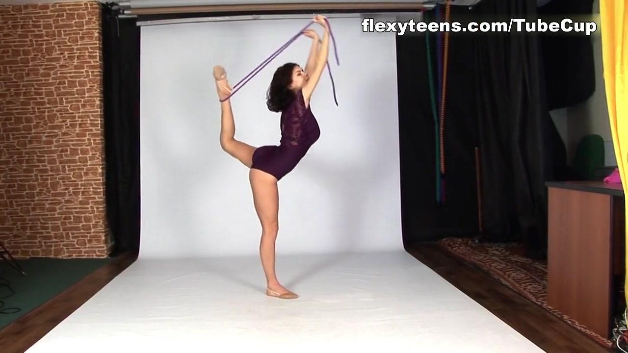 Violeta Lazkowa - Gymnastic Video part 1