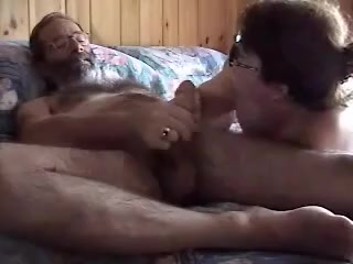 Amateur BBW wife pleasing her husband in the morning