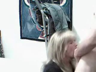 This blonde slut really asked me to record anal penetration