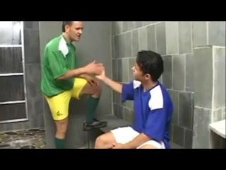 Soccer latino bareback