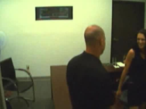 Candid camera records dirty oral job and doggy fuck in the office