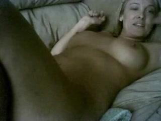 mama on webcam