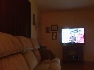 Watching TV Sex