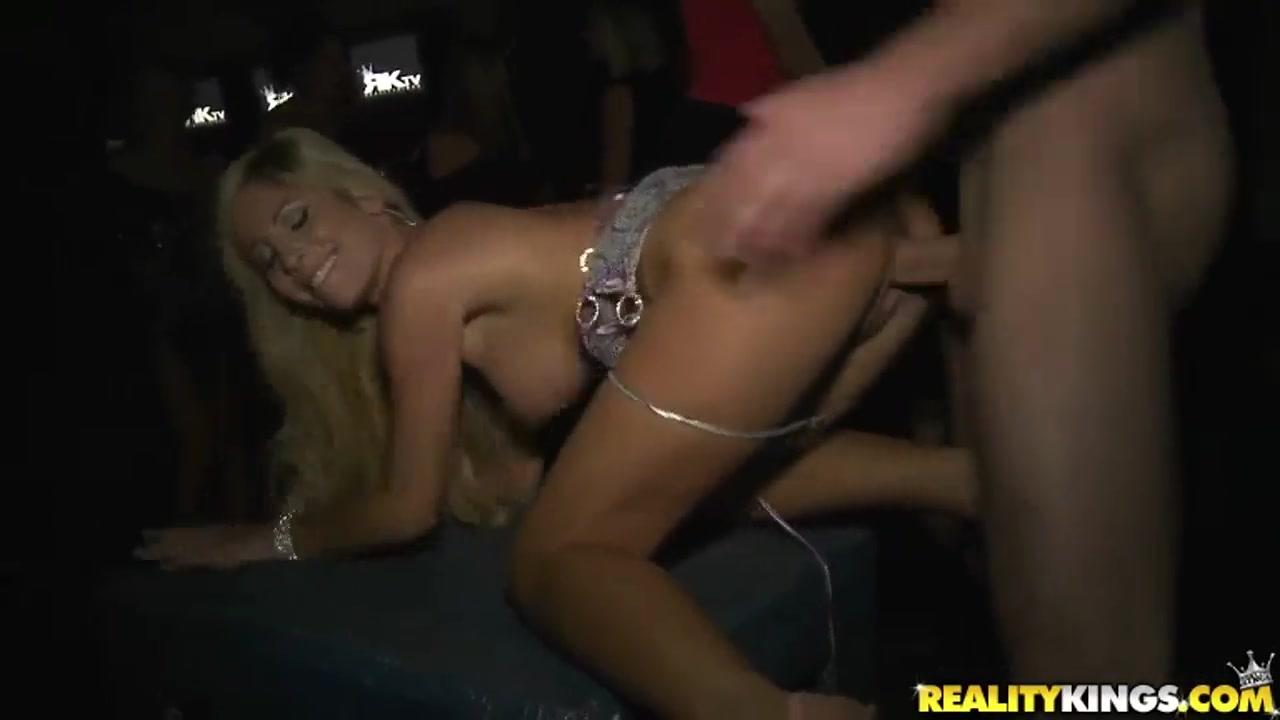 public porn scene in the club with brannon, jmac and tasha reign