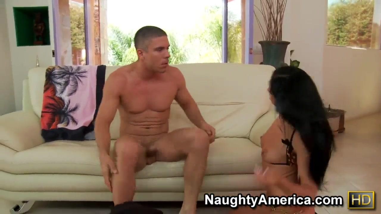 rebeca linares brunette enjoys her cousin's big dick