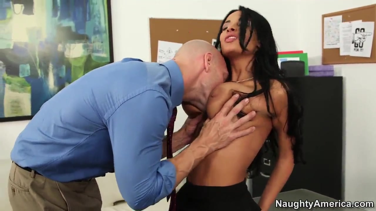 anisa busty busty office fuck with johnny sins