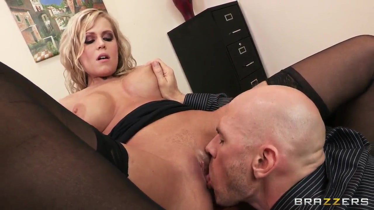 darcy tyler is working on his holes with johnny sins