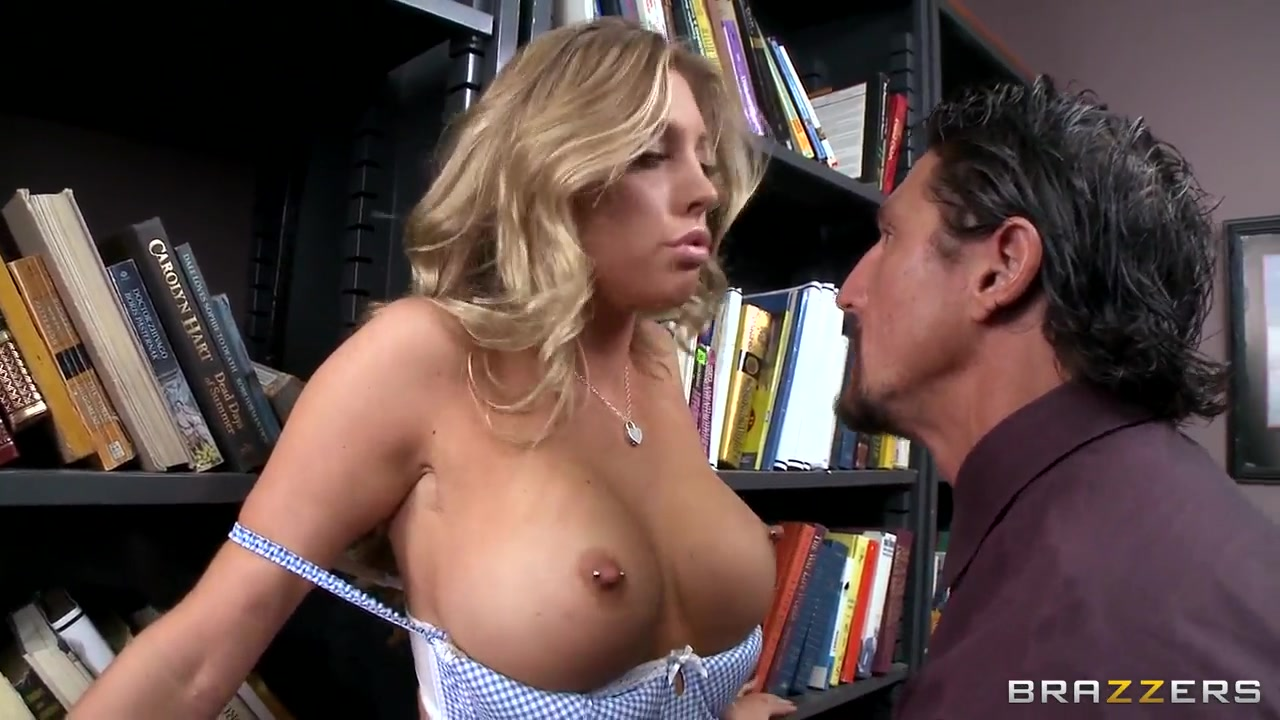 busty schoolgirl samantha saint plays with cock