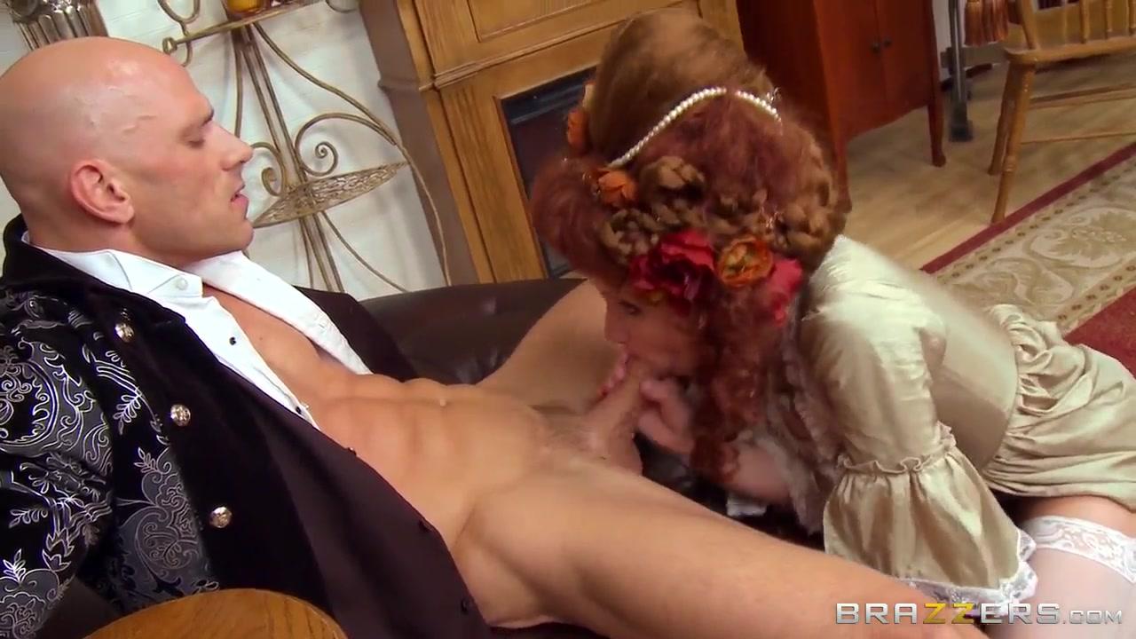 hot redhead veruca james rides a rigid meat pole