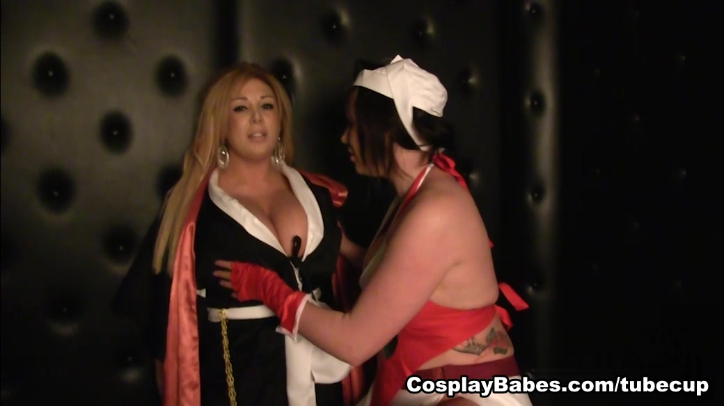 Cosplay fetish enthusiasts Yuffie Yulan and Bonnie Rose having lesbian sex  787790