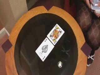 Tarot card reader ladyman jerks off
