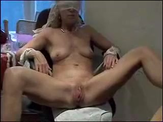 Submissive Woman Playing
