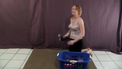 Mommys Revengeblowjob For White Spots In The Lingerie