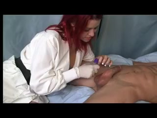 Redhead Gives A Prostate Massage