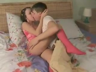 Teenage Couple With A Fierce Fuck